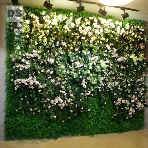 stickers simulation plant wall gardenia green plants