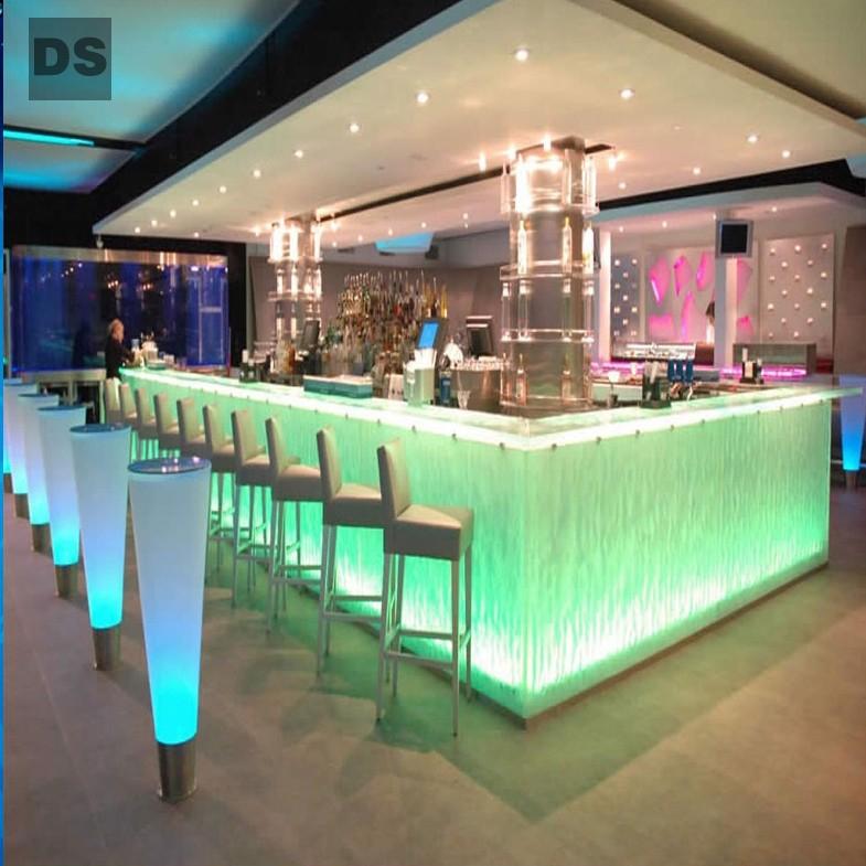 Hot-melt glass (LED bar)