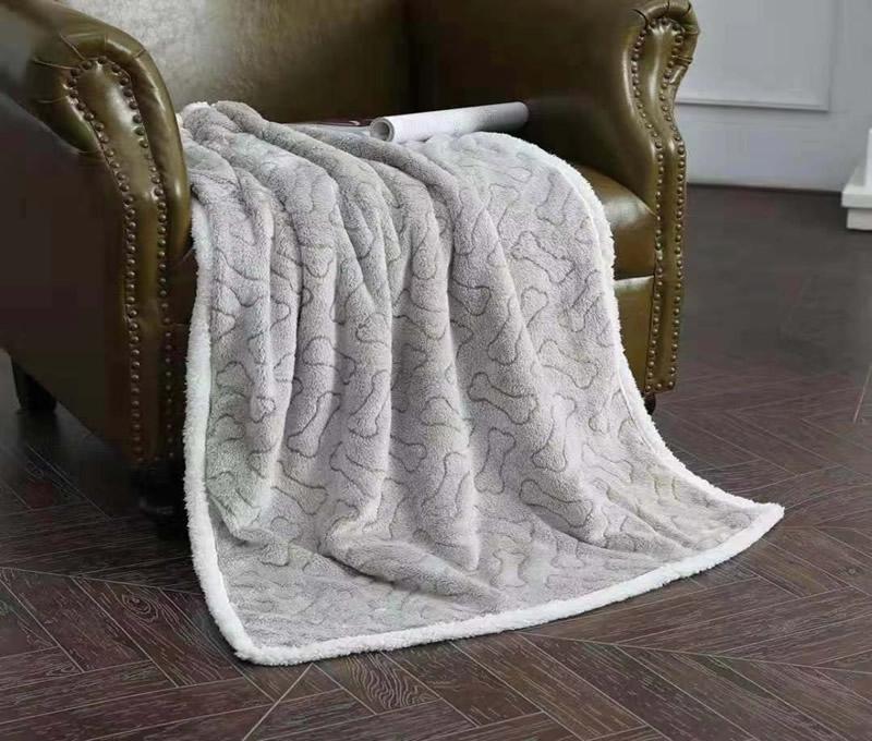 Printed Flannel Fleece Blanket