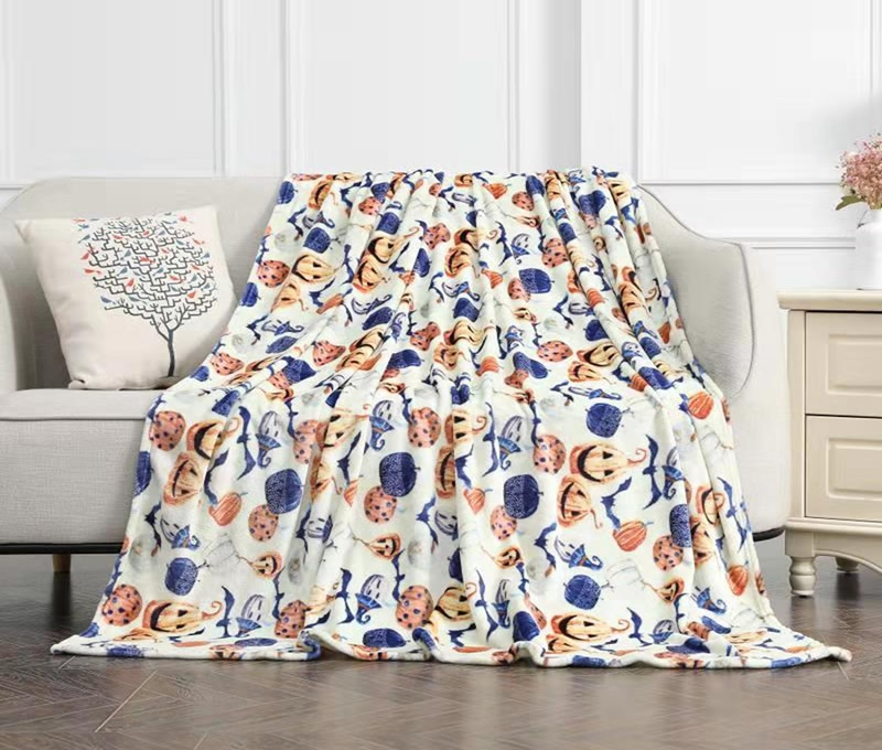 Printed Flannel Blanket
