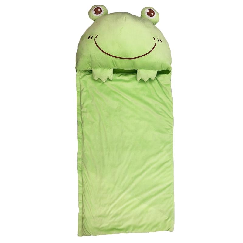 Frog happy sleeping bag